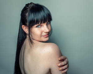 női portré fotózás